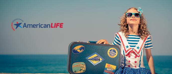 American Life yaz okulu kayıtlarında ekstra %10 indirime ek 100 TL CHIPPIN kazan