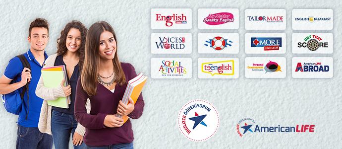 American Life yetişkin dil kursu kayıtlarında ekstra %25 indirime ek 100 TL CHIPPIN kazan