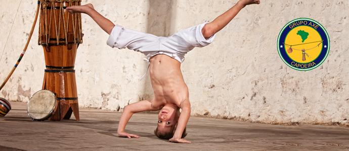 Çocuklar Axe Capoeira Akademi