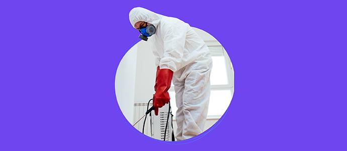 Dezenfeksiyon ile hem kendini hem çevreni virüslerden koruyabilirsin