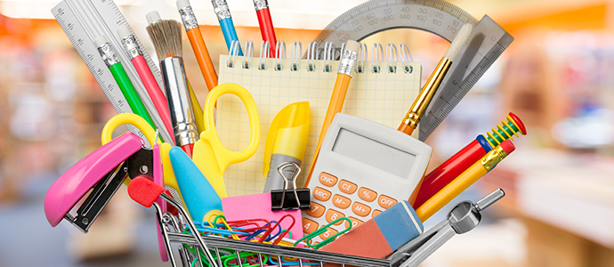 Okul alışverişi mutluluğuna erenofis.com