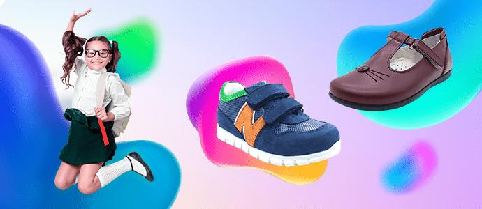 Okula başlayan minik ayakların ayakkabısı Nu-Bebe