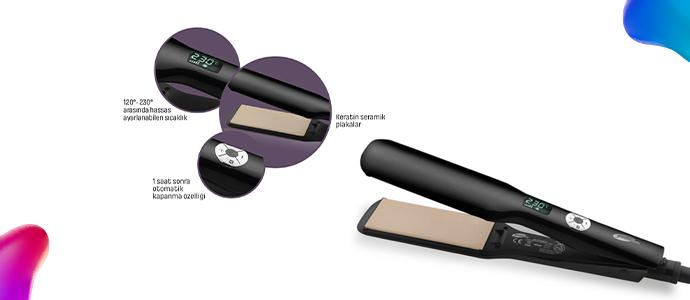 ProSense Saç Düzleştirici 479 TL yerine 199 TL, 5 TL Chippin hediye