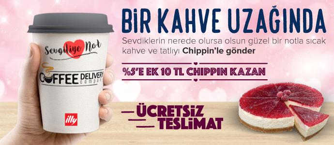 SİPARİŞİN KAPINA GELİRKEN, 10 TL CHIPPIN CEBİNE GELSİN!