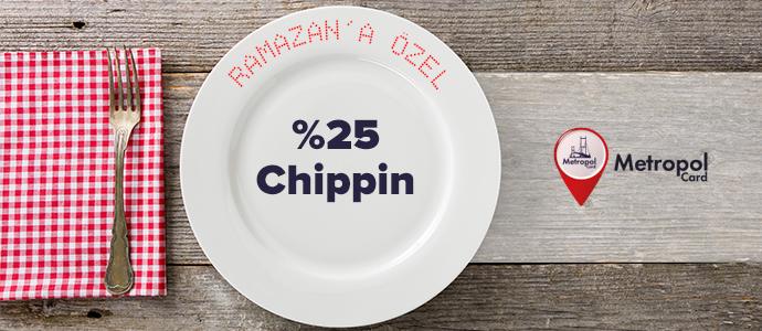 """""""Yeme-İçme"""" kategorisinde tüm MetropolCard markalarında %25 Chippin kazan"""