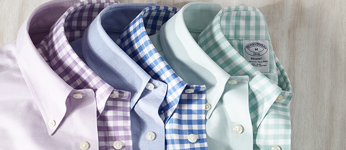 Brooks Brothers Non-Iron Fashion Gömlekler CHIPPIN